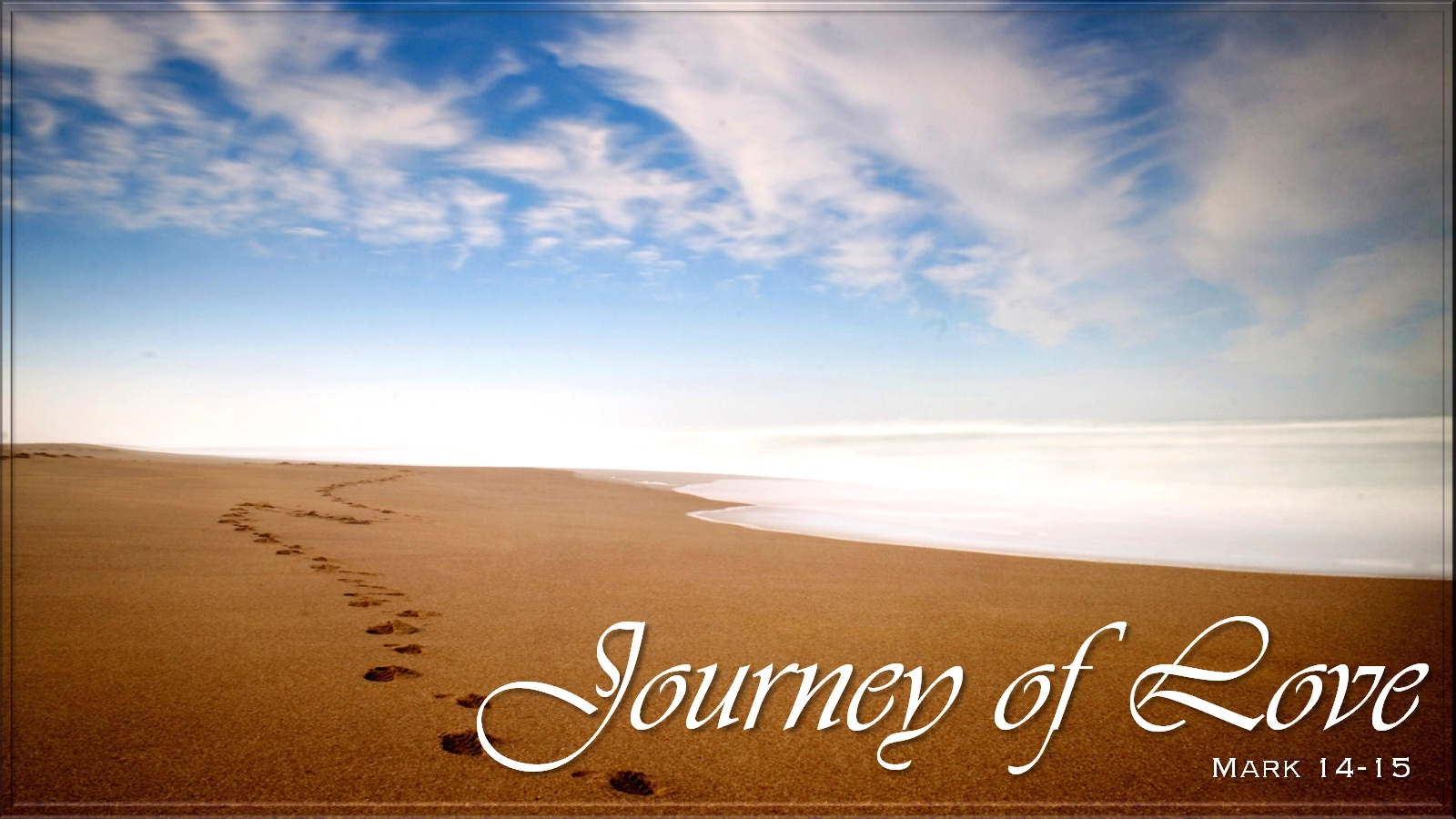Journey of our love